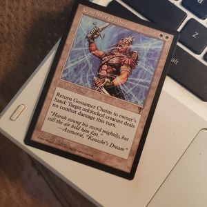 Gossamer chains magic card